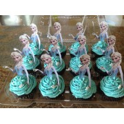 Cupcake's with Toppers